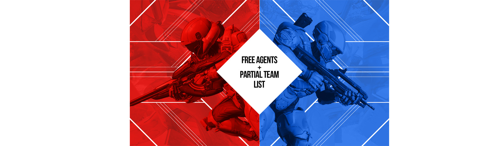 Free Agent/Partial Team List for G4G and DreamHack Dallas