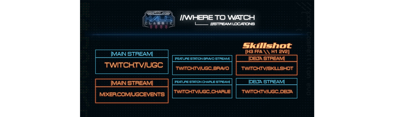 Halo Classic Stream Information and Updates