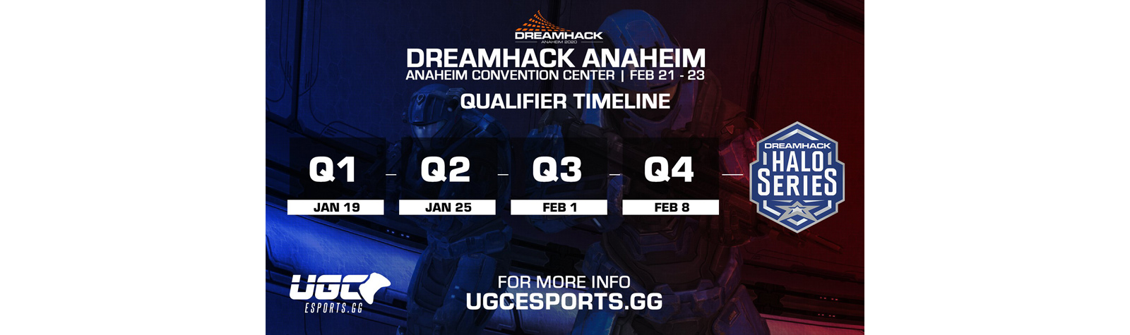 DreamHack Anaheim Qualifier #4 Results – 2/8/20